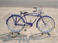1941 Schwinn Liberty Autocycle bicycle
