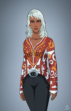 Ororo commission by phil-cho on DeviantArt