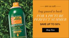 Summer is almost here...and so are the mosquitoes. I have heard this works great and so does the Skin So Soft lotions for keeping the mosquitoes away.