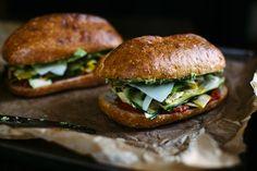 Summer Squash Sandwich with Garlic Scape Aïoli More