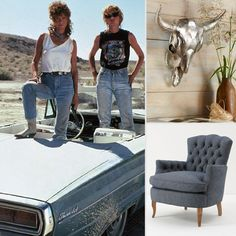 Retro Western Decor Inspired by Thelma & Louise