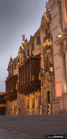 Archbishop Palace , Lima, Peru