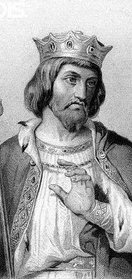 (2) Robert ll known also as the Pious or the Wise....was the second capet to reign following his father (Robert 1 was an earlier king of the franks grandfather to Hugh Capet)......he was married 3 times the first marrage he ended as soon as his father died the second was Berthe his cousin for which he was excommunicated and the last was Constance of Arles with which he had a number of children.