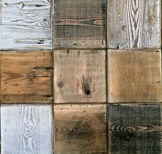 Wooden tiles supplied by Lawsons made from recycled floorboards