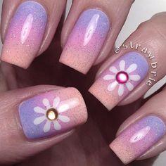 Amazing Designs Of Easter Nails: Pastel Rainbow  #easter; #nails; #nailart; #naildesign