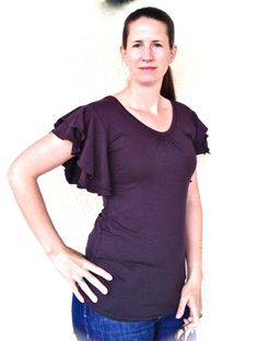 ♥ Luusmeitlifashion ♥: Joana Jolijou mit Ärmeln nach eigenem Schnitt Freebook Free Schnittmuster http://muggelchens-kuschelwear.blogspot.ch/2012/06/armel-schnitt.html Nähen