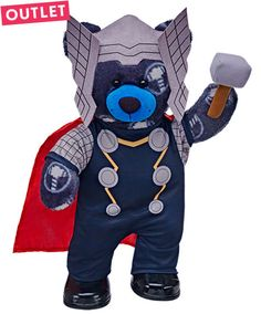 Outlet Ultimate Thor Bear Set | Build-A-Bear
