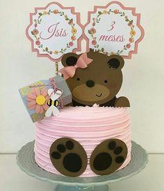 Fondant Cakes, Cupcake Cakes, Baby First Cake, Panda Party, Buttercream Recipe, Paper Cake, Birthday Woman, Drip Cakes, Baby Party
