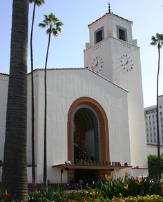 "Union Station, built in 1939 and considered ""The last of America's great rail stations."" Try taking a train from Union Station to downtown San Diego and return the same day."