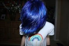 r cute emo boy with blue hair