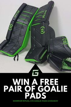 Want to win a set of Warrior Ritual Goalie Pads? We've partnered with Pure Hockey to give a set away, enter by May Hockey Goalie Gear, New Warriors, Goalie Mask, Pad Design, Hockey Stuff, Detroit Red Wings, Almost Always, Biking, Drums