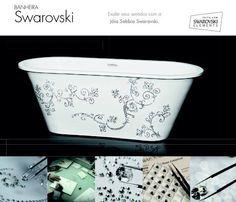 banheira Sabbia com Swarowski