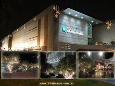 Shopping Granja Vianna - Iluminação externa de Natal 2014 e 2015 T74Brasil