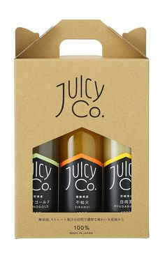 JuicyCo.3本セットギフトボックス入り