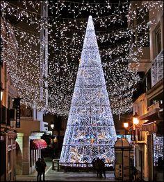 Marbella Christmas lights