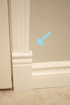 ... in the fun lane: Secrets of caulking and painting trim #tutorial with pics and very clear instructions!