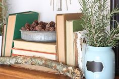 Decorating with book