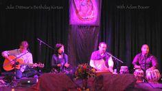 Adam Bauer- Ras Dance (Radhe Govinda) at Julie Dittmar's Birthday Kirtan