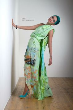 For a fashion students portfolio A-I-Imaging
