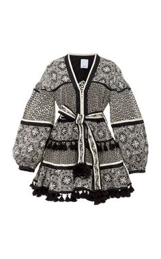 Broderie Tassel Mini Dress by ACLER for Preorder on Moda Operandi Stage Outfits, Kpop Outfits, Girly Outfits, Cute Outfits, Cute Dresses, Casual Dresses, Fashion Dresses, Short Dresses, Look Fashion