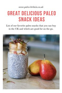 healthy paleo snacks