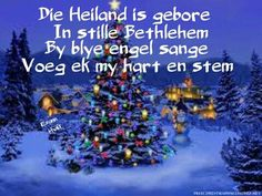 Christmas 2017, All Things Christmas, Christmas Time, Xmas, Afrikaans, Christian Quotes, Christmas Decorations, Happy Birthday, Gift Wrapping