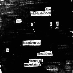 Thanks for that #newspaperpoetry #poetry #blackoutpoem #blackoutcommunity #blackoutpoetry #newspaperpoem #makeblackoutpoetry #writersofinstagram #erasurepoetry #sharpieart #poetsofinstagram #poetsofig