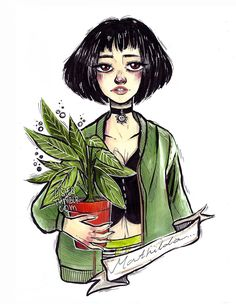 My art, Mathilda from Leon the Professional