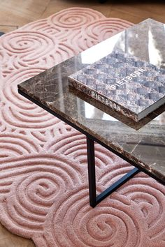 Art Deco, Interior, Holiday, Table, Pink, Furniture, Retro, Home Decor, Velvet