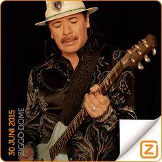Carlos Santana | 30 juni 2015 | Ziggo Dome, Amsterdam