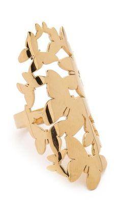 Jennifer Zeuner Jewelry Butterfly Cluster Ring | SHOPBOP