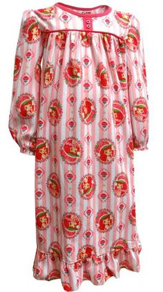 Strawberry Shortcake Traditional Style Nightgown 998f79f37