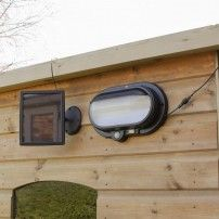 Buy a Solar Security Light & Protect Your Home, Bright Mains Equivalent Outdoor Solar Motion Sensor PIR Security Lights, Best Prices, Free UK Delivery Solar Shed Light, Solar Security Light, Solar Powered Lights, Solar Lights, Solar Garden Lanterns, Solar Energy Facts, Lighting Uk, Solar Installation, Solar House