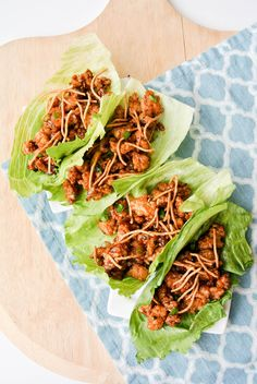 {chicken lettuce wraps} pf changs - watch out!_
