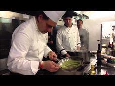 Per Tutti i Gusti - Liguria. Lo chef Ivano Ricchebono prepara tortelli di patate con pesto, fagiolini e croccante di pinoli :)