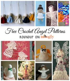 From tree toppers to ornaments, to little stuffed dolls, from beginner to expert... I have found a whole chorus of free crochet angel patterns!