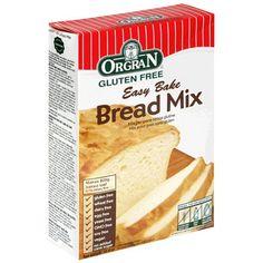 Orgran Easy Bake gluten free bread mix