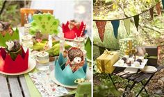 Eco-Friendly Woodland Party in a Box
