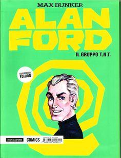 ALAN FORD SUPERCOLOR EDITION COMPLETA N.1/16 ED. MONDADORI COMICS