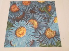 FLOWERS-HP DESIGNS-HANDPAINTED NEEDLEPOINT CANVAS