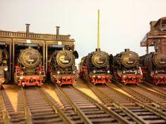 dampfjockel's modellbahnwelt : Parade schwere Güterzuglokomotiven