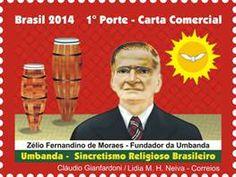 Os Correios realizam nesta quinta-feira (15) o lançamento do selo especial Umbanda - Sincretismo Religioso Brasileiro