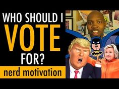 Who Should I Vote‬‬ For? How To Vote Smarter || Nerd Motivation + Vlog
