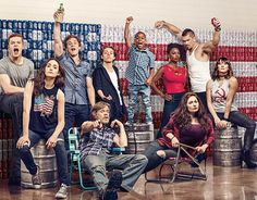 "The cast of ""Shameless"" on Showtime SHOWTIME"