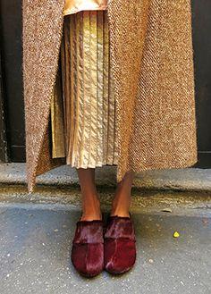 Wait and See presents POLDER skirt MARLOTA coat BOSABO clogs
