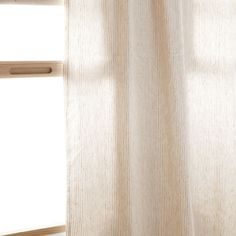 STRIPED LINEN CURTAIN - Curtains - Bedroom | Zara Home Cyprus