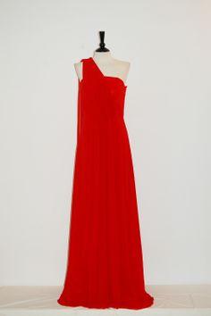 Vestido Jovita Rojo  Vestido Fiesta Largo