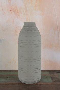 Matt Stone Dot Vase