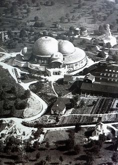 First Goetheanum aerial view