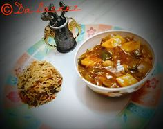 Da Lazeez: Cheese chilly/ chilly paneer gravy/ Restaurant sty...